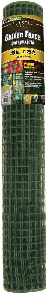 YARDGARD 889250A Fence, 40 by 25-Feet, Green