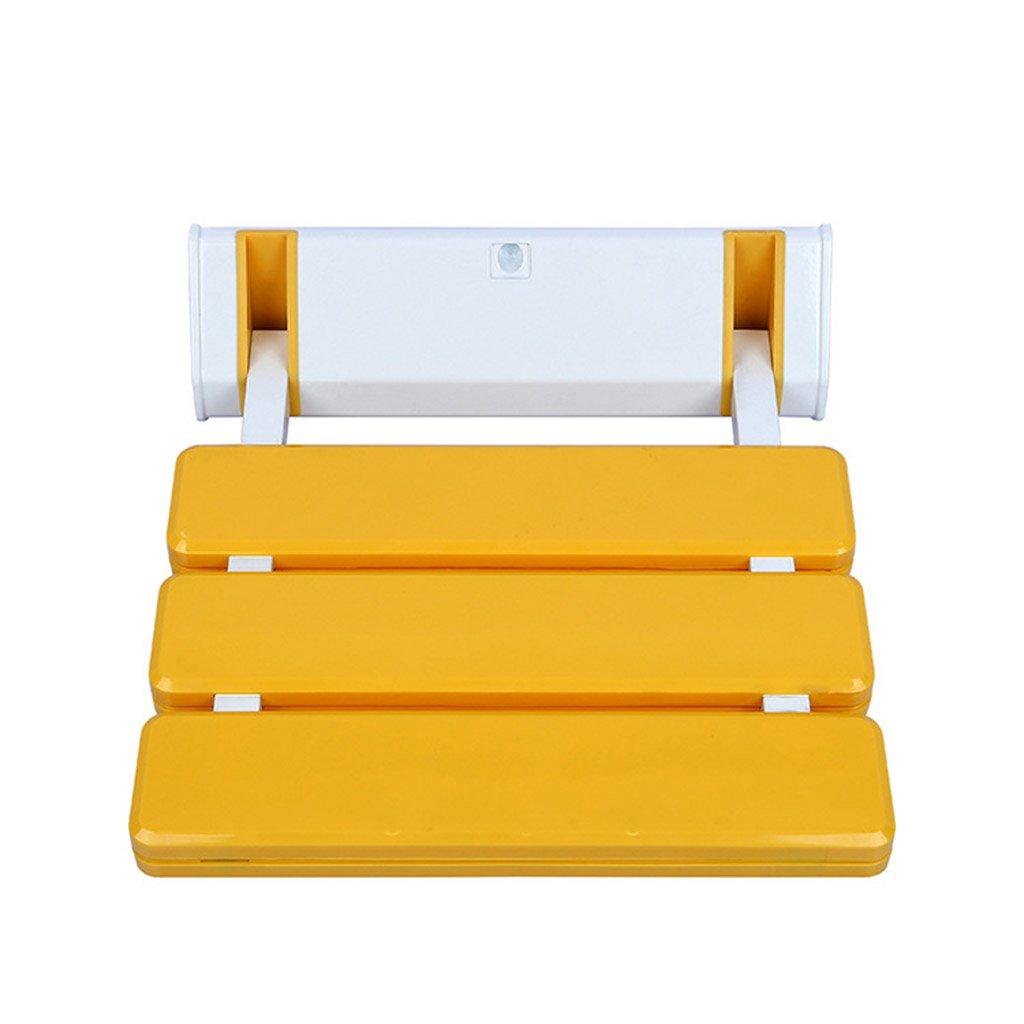 GRJH® シャワーチェア、折畳み式ノンスリップ老人妊婦浴室椅子バスルームアルミ合金シャワーチェア 防水,環境の快適さ   B079GJCKDS