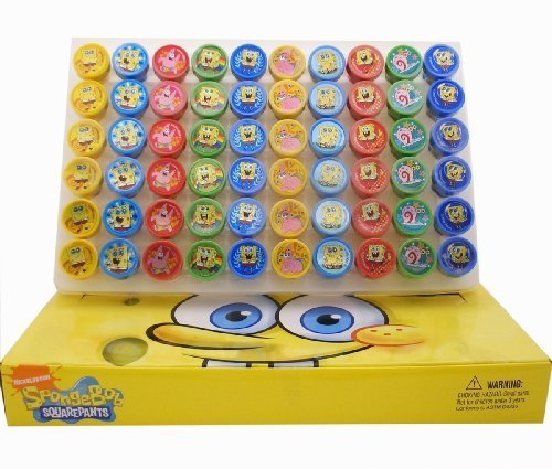 (Spongebob Stampers Party Favors (20 Stampers))