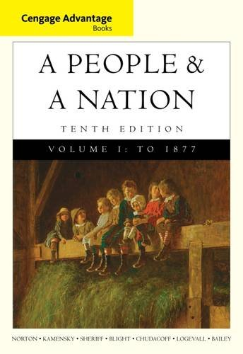 People+A Nation,V.I Cengage Advantage