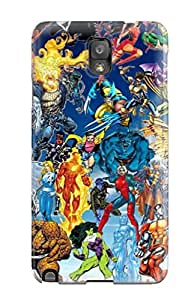 9940527K62543706 Anti-scratch Case Cover Protective Marvel Case For Galaxy Note 3