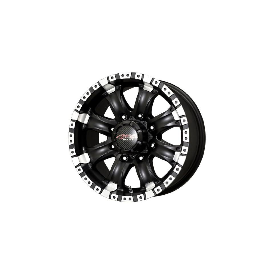 MB Wheels Chaos Matte Black Wheel (16x8.5/6x114.3mm)