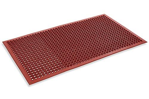 ue Drainage Rubber Mat 3' x 5' (Drainage Mat Grease)