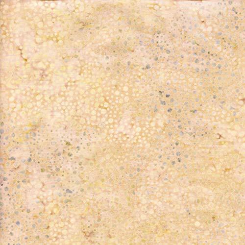 (Island Batik Globetrotter Mottle Quilt Fabric Style 111830038 Cream)