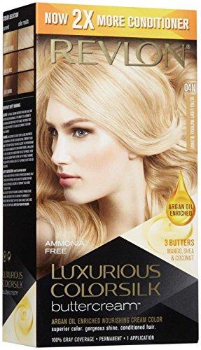Revlon Luxurious Colorsilk Buttercream, Ultra Light Natural Blonde