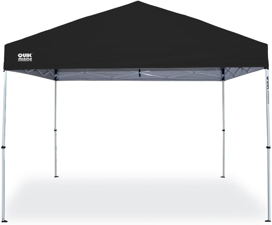 GAZEBO PLEGABLE QUIK SHADE 3 X 3 MT-MOD. SPORT COLOR NEGRO: Amazon ...