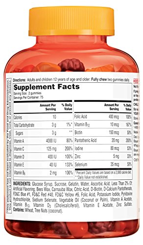 One A Day Vitacraves Immunity Gummies, 150 Count: Amazon.es: Salud y cuidado personal