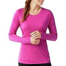 Smartwool Women's Merino 150 Baselayer Pattern Long Sleeve (Berry) X-Small
