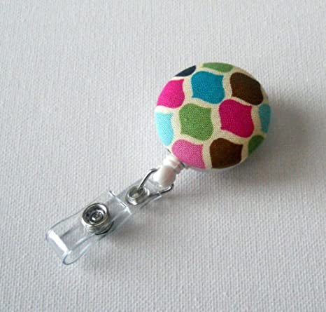 Amazon.com: Rainbow Diamond – Retráctil ID Badge Holder ...