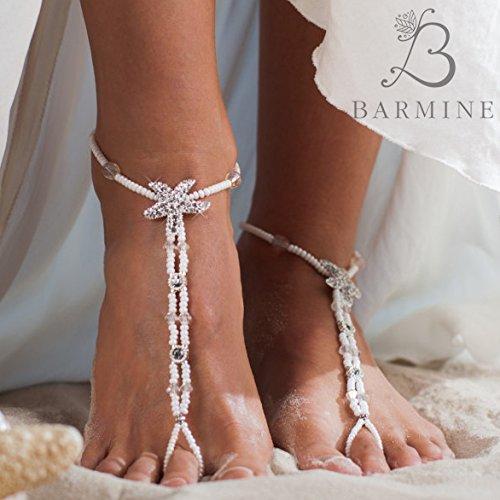 91e1e31cd42 Amazon.com  Beach wedding foot jewelry