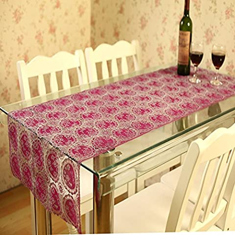 Table Cloth Hollow Table Mat Hollow Plastic Tablecloth Waterproof And Oil Proof Tea Table Mat Circle Style - 594 Mint