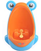 mkool Cute Frog Potty Training Urinal for Boys with Funny Aiming Target