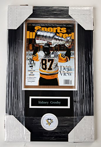 Sidney Crosby Pittsburgh Penguins Signed Autographed 22