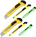 Darice Retractable Razor Knife Set, Assorted Color (2 Pack)