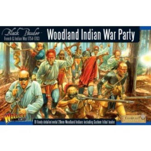 Warlord Games, Woodland Indian War Party, Black Powder Wargaming Miniatures