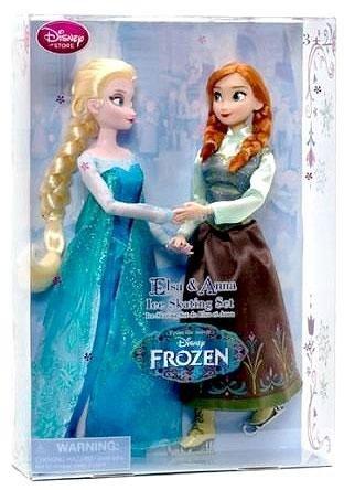 Disney Frozen Inch Doll Skating
