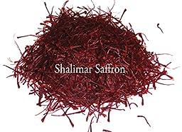 New Crop Original Kashmir Saffron Threads 5Gram (5packs of 1Gram)- Shalimar Premium Kashmir Saffron Mogra ISO Grade 1 Category