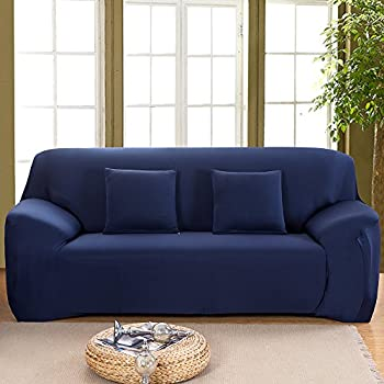 Exceptional Bluecookies Stretch Sofa Slipcover 1 Piece 3 Seater Easy Fit Elastic Fabric Sofa  Couch Cover