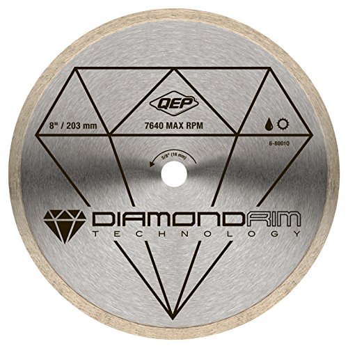 QEP 8 in. Diamond Blade for Wet Tile Saws