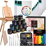 MEEDEN Great Deluxe Value Acrylic Painting Kit with