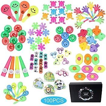 Amazon.com: Kocici 100 piezas de regalos de fiesta para ...