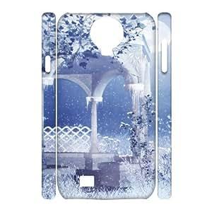 SamSung Galaxy S4 I9500 White world 3D Art Print Design Phone Back Case Custom Hard Shell Protection TY066154