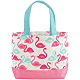Mud Pie Mini Tote for Child, Flamingo
