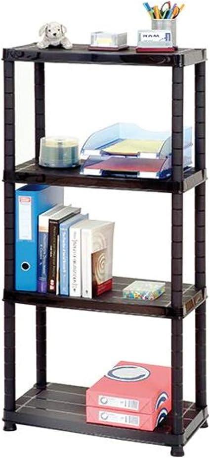 Büroregal mit 4 Böden inkl Wandbefestigung Haushaltsregal Standregal B-Ware