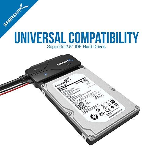 sabrent usb 2.0 to sata ide hard drive adapter instructions