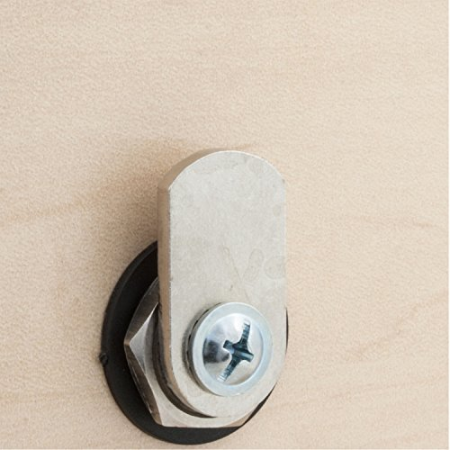 FJM Security Products 7910-K10-HRH-WHT Combi Cam E Electronic Cabinet Lock, White by FJM Security (Image #6)