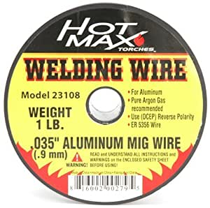 Hot Max 23108 .035-Inch Aluminum ER 5356 MIG Wire - 1# by Hot Max