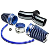 For Dodge SUV/Truck Cold Air Intake Pipe Kit Set (Black Pipe+Blue Filter)