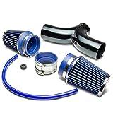 dodge ram 1500 2002 air intake - Dodge SUV/Truck Short Ram Cold Air Intake Pipe Kit Set (Black Pipe+Blue Filter)