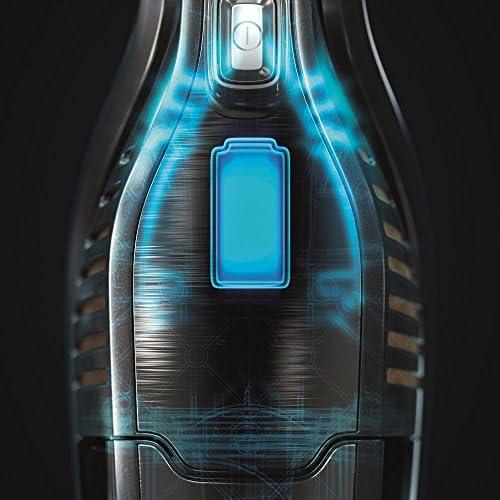 ErgoRapido Electrolux - Aspirateur Balai 2 en 1 sans fil + Aspirateur à main batterie lithium-ion 18 V Negro ébano y verde
