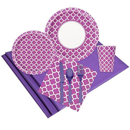 UPC 887513042624, Quatrefoil Pretty Purple Party Pack