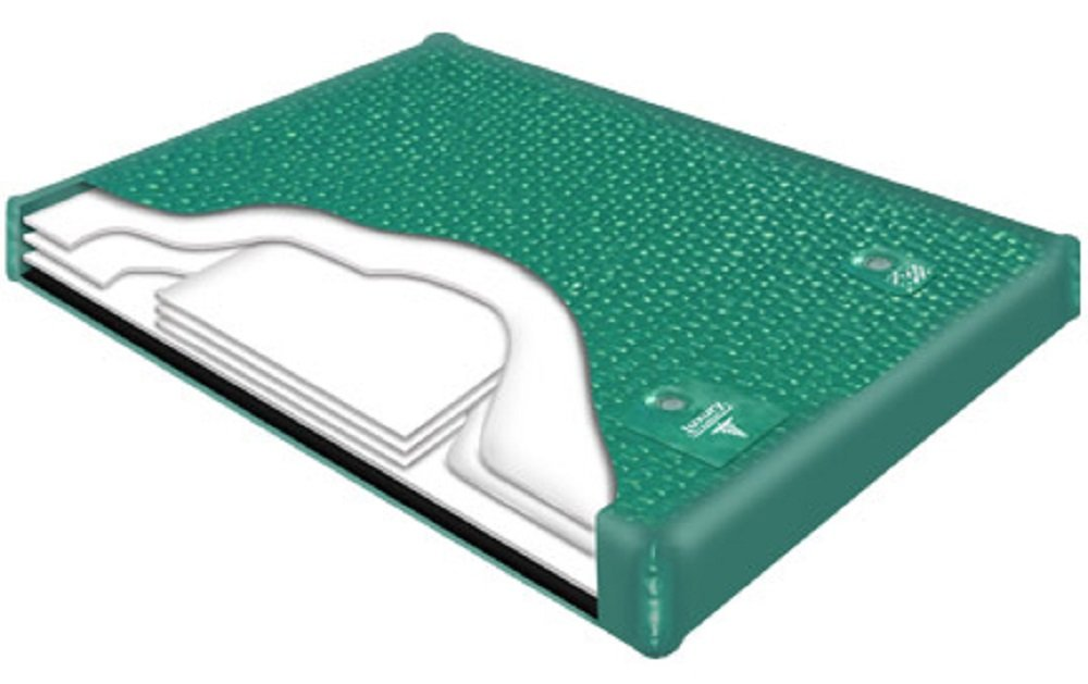 6'' MID Fill 95% WAVELESS SOFTSIDE WATERBED Replacement Bladder (King 76x80 L.S.#700) by Innomax