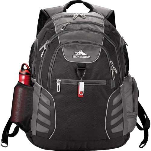 "High Sierra® Big Wig 17"" Computer Backpack - Black"