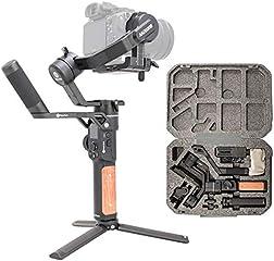 FeiyuTech AK2000S-Stabilizzatore per DSLR videocamera portatile, pannello tattile LCD, 3 assi fino a 2,2 kg per...