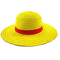 Hongsawat.jawan5612 Luffy Straw Hat One Piece Cosplay Monkey D Luffy Straw Hat Cap