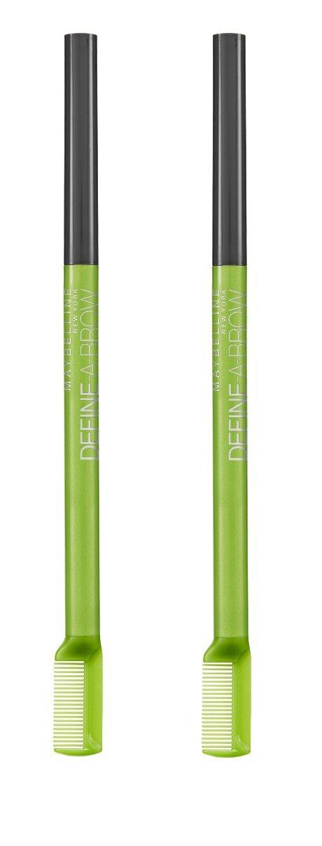 Maybelline New York Define-a-Brow Eyebrow Pencil, Dark Blonde, 2 Count