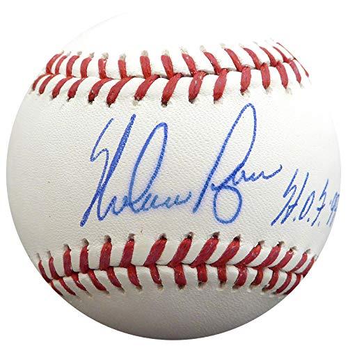 Texas Rangers Autographed Mlb Baseball - Nolan Ryan Autographed Official MLB Baseball Texas Rangers, New York Mets