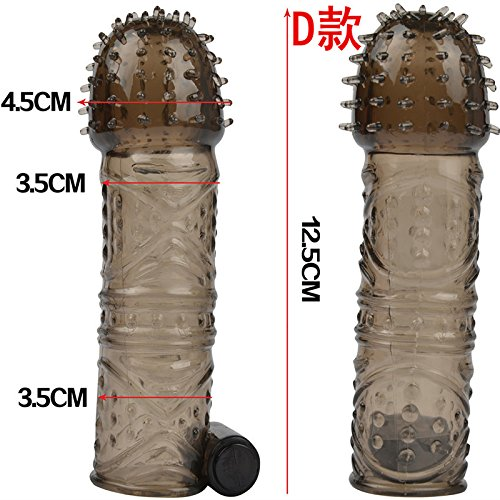 365Cor - Penis Vibrate Extender, Delay Ejaculation, Penis Enlargement Enhancer, Penis Extend Sleeve, Sex Toys for Man, Adult Products O15 by 365Cor