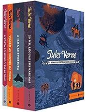 Box Viagens Extraordinárias: Edição comentada e ilustrada – Clássicos Zahar