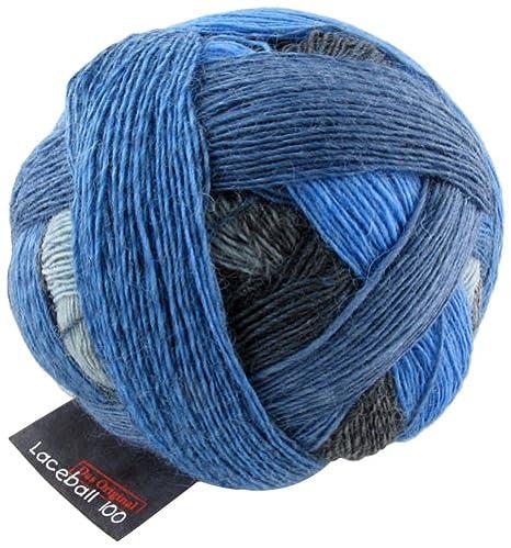 Zauberball 100 von Schoppel 100g  Farbe 2309 Blaue Lagune