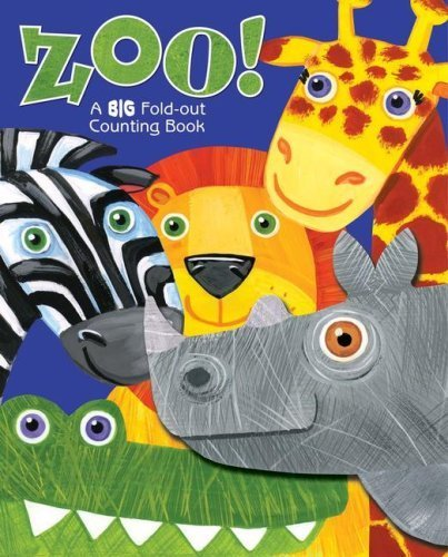 Zoo!: A BIG Fold-Out Counting Book (Counting Zoo)