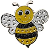 Navika Bumble Bee Swarovski Crystal Ball Marker with Hat Clip