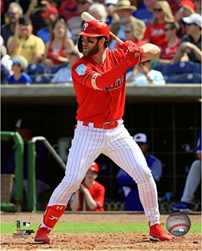 - Bryce Harper Philadelphia Phillies 2019 MLB Spring Training Action Photo (8