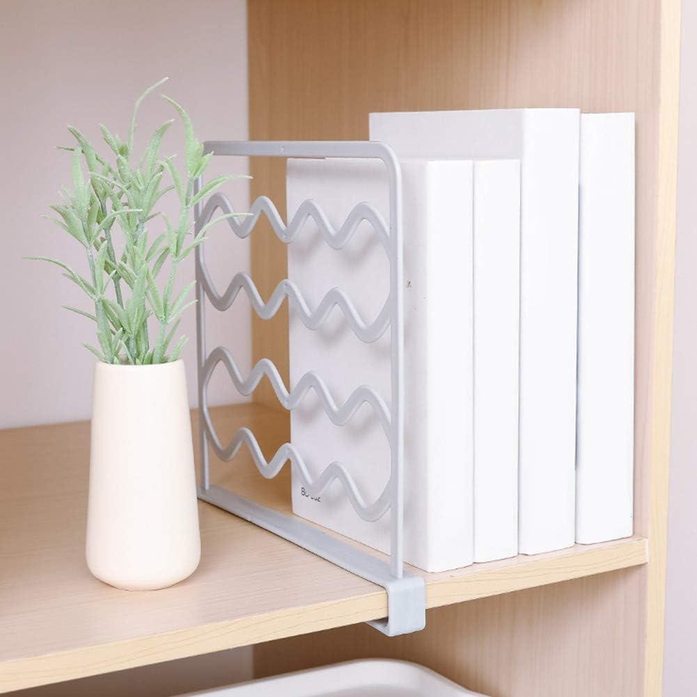 Cloison de s/éparation pour Placard avec Perforation pour penderie Pratique Livres Taille Unique Blanc
