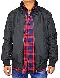 PHOENISING Men's Long Sleeve Solid Light Weight Bomber Jacket