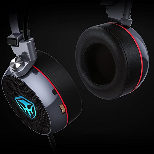durable service PC Gaming Headset with Mic, 3D Surround